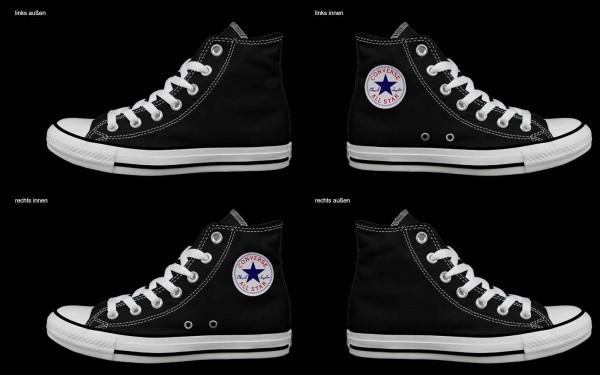 Schuh (Design: 8223 )Converse High