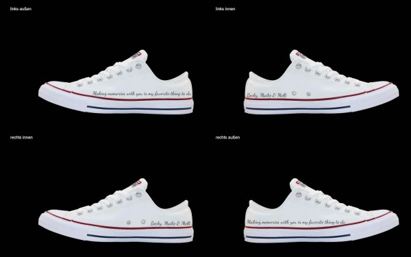 Schuh (Design: 3385 )Converse Low