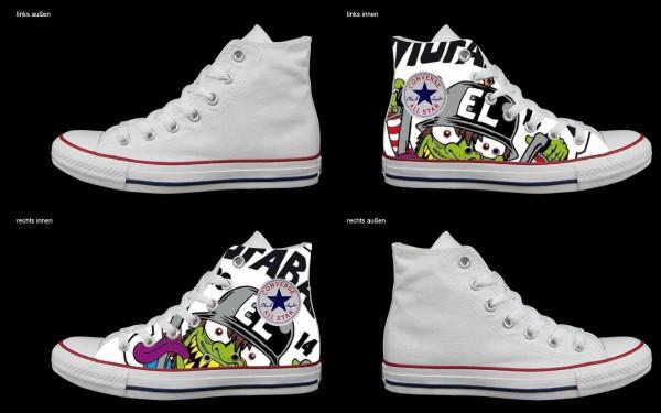 Schuh (Design: 7703 )Converse High