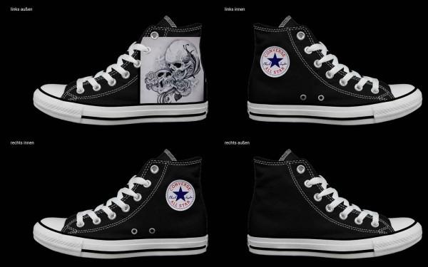 Schuh (Design: 4502 )Converse High
