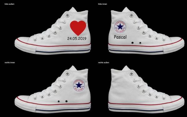 Schuh (Design: 4465 )Converse High