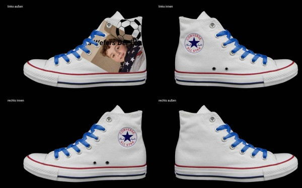 Schuh (Design: 7328 )Converse High