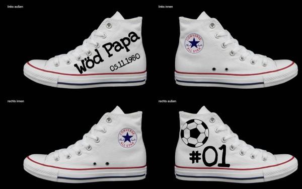 Schuh (Design: 4205 )Converse High