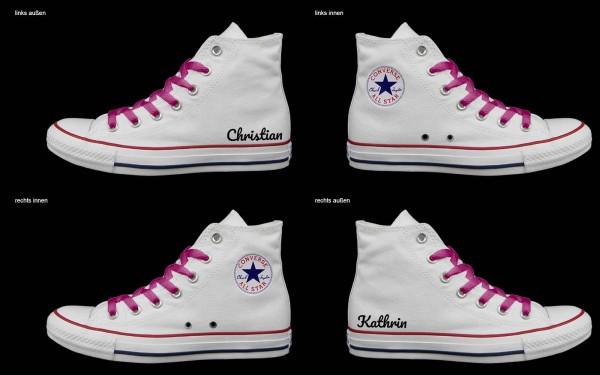 Schuh (Design: 3462 )Converse High