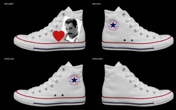 Schuh (Design: 6733 )Converse High