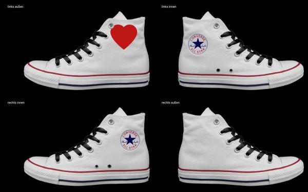 Schuh (Design: 6746 )Converse High