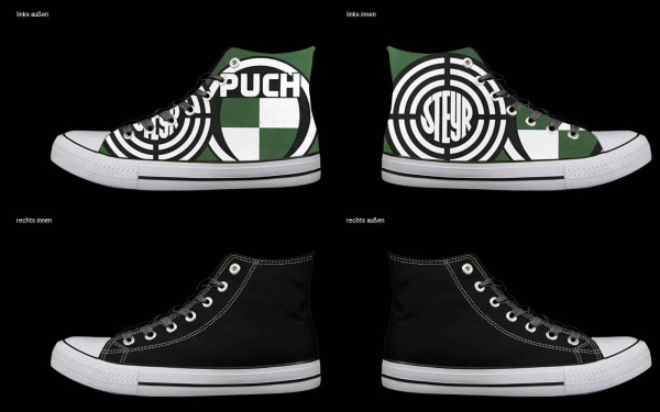 Schuh (Design: 7343 )Sneaker High