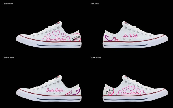 Schuh (Design: 7254 )Converse Low