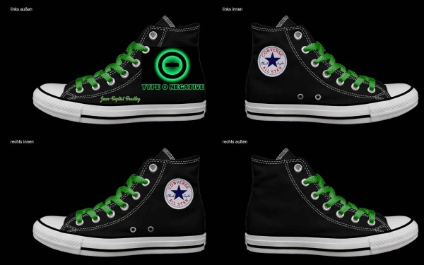 Schuh (Design: 7635 )Converse High