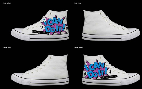 Schuh (Design: 4931 )Sneaker High