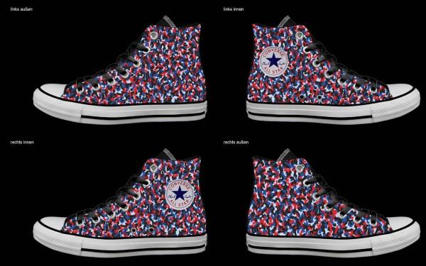 Schuh (Design: 7753 )Converse High