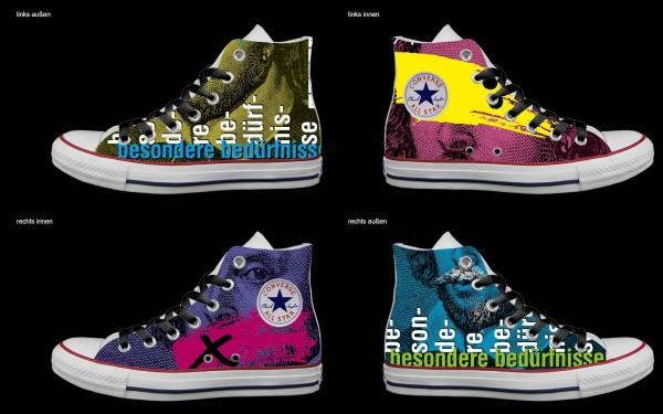Schuh (Design: 5366 )Converse High