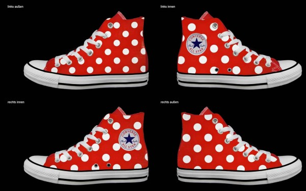Schuh (Design: 4782 )Converse High