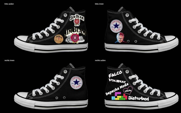 Schuh (Design: 4267 )Converse High