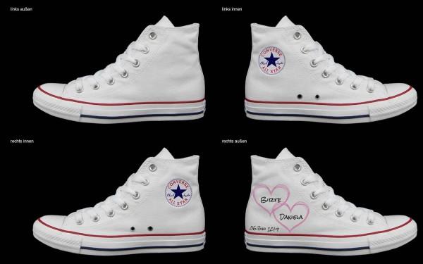 Schuh (Design: 5752 )Converse High