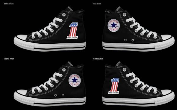 Schuh (Design: 8064 )Converse High