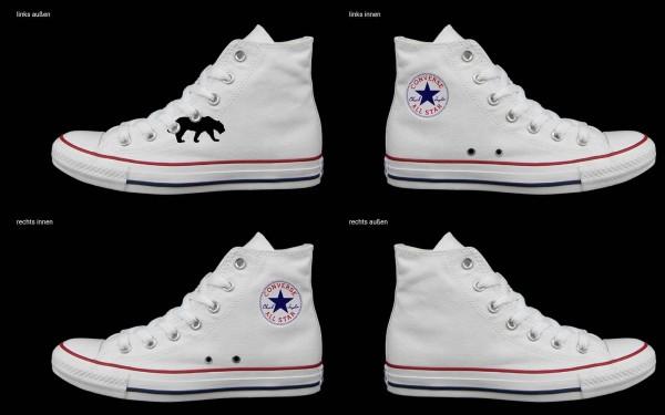 Schuh (Design: 8217 )Converse High