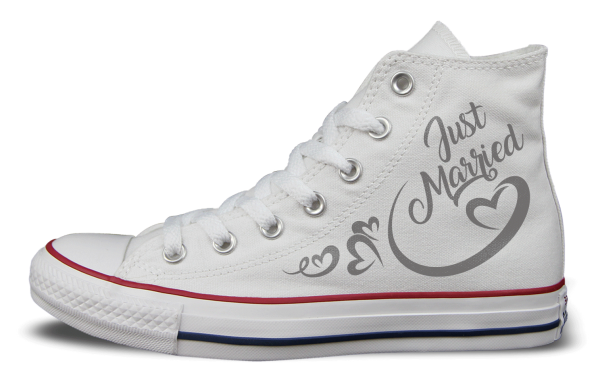Just Married Shoemonkeys Converse Chucks Selbst Gestalten