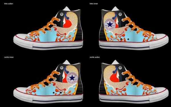 Schuh (Design: 5522 )Converse High