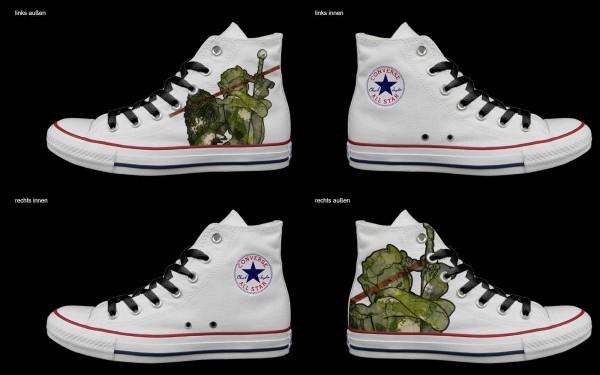 Schuh (Design: 7285 )Converse High