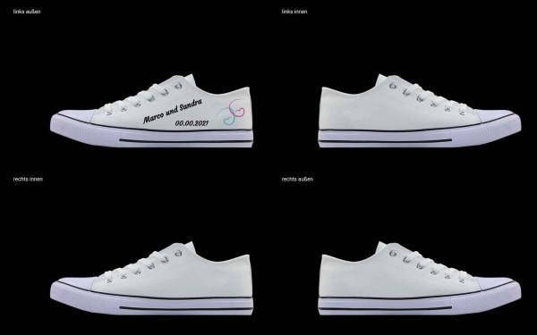 Schuh (Design: 7216 )Sneaker Low