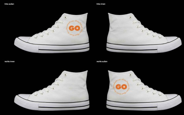 Schuh (Design: 7372 )Sneaker High