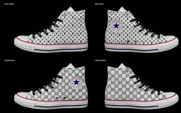 Schuh (Design: 7566 )Converse High