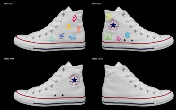 Schuh (Design: 7117 )Converse High