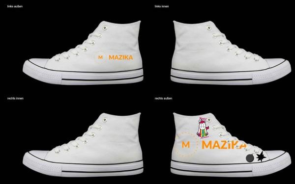 Schuh (Design: 6658 )Sneaker High