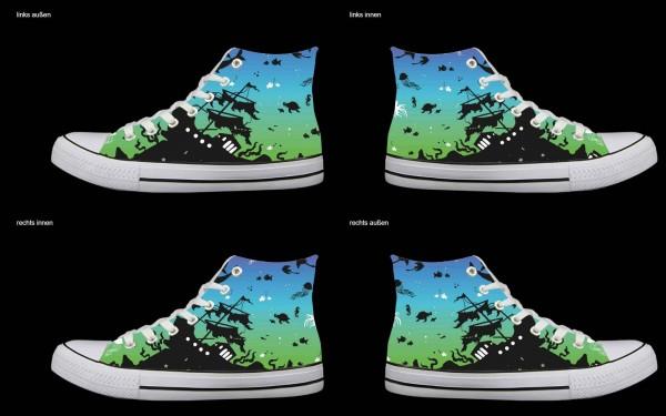 Schuh (Design: 4963 )Sneaker High