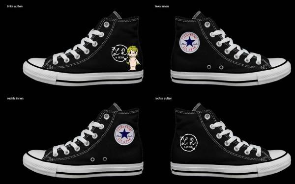 Schuh (Design: 3241 )Converse High