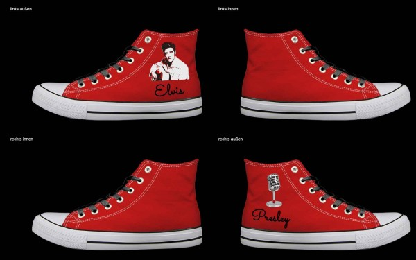 Schuh (Design: 4197 )Sneaker High