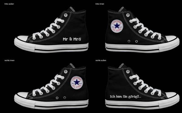 Schuh (Design: 4747 )Converse High