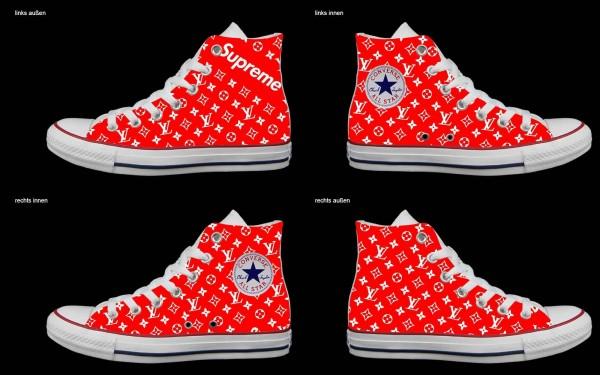 Schuh (Design: 7297 )Converse High