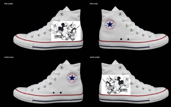 Schuh (Design: 5479 )Converse High