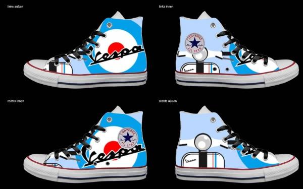 Schuh (Design: 4690 )Converse High
