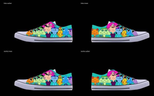 Schuh (Design: 4807 )Sneaker Low