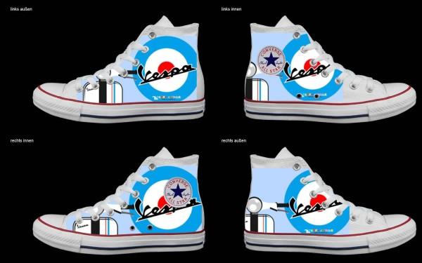 Schuh (Design: 4705 )Converse High