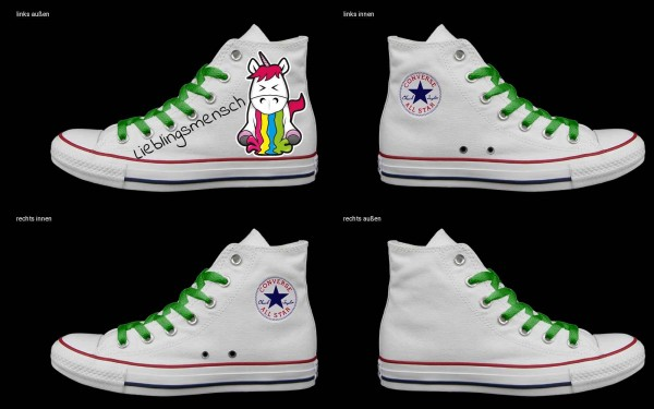 Schuh (Design: 5720 )Converse High