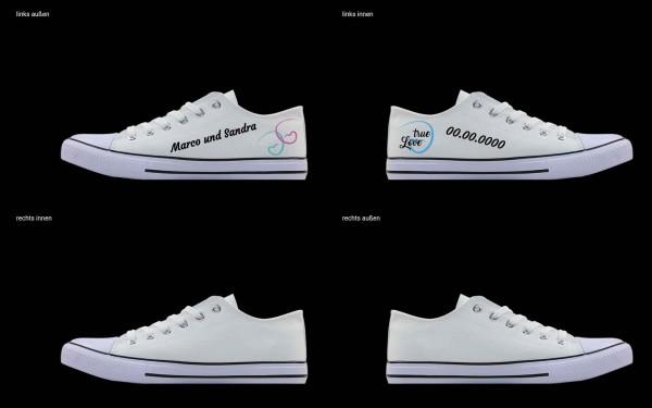Schuh (Design: 7217 )Sneaker Low