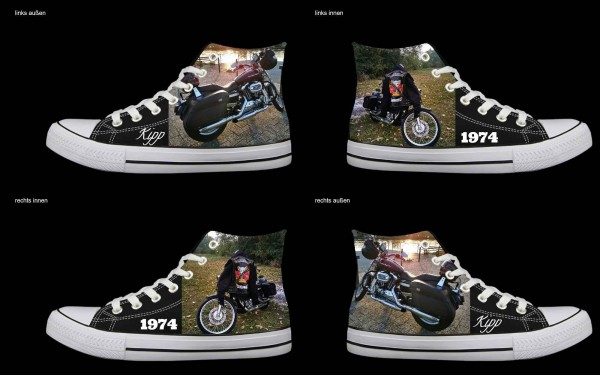 Schuh (Design: 7338 )Sneaker High