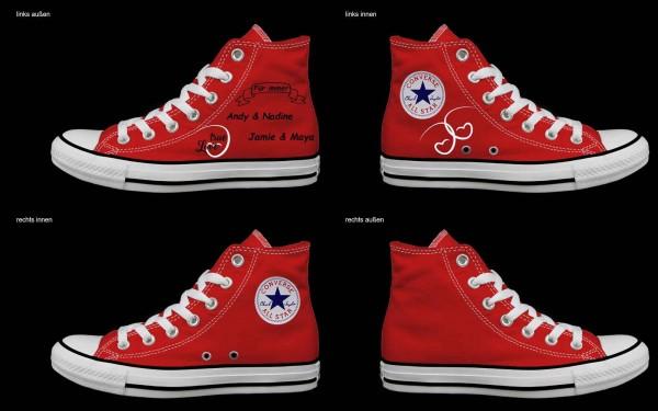 Schuh (Design: 3191 )Converse High