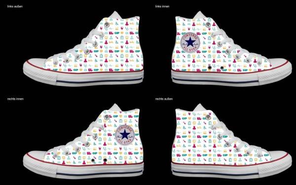 Schuh (Design: 7179 )Converse High