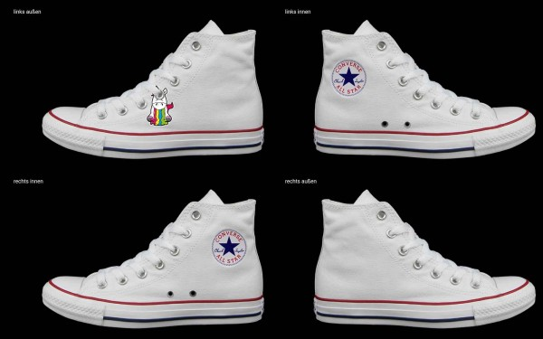 Schuh (Design: 7685 )Converse High
