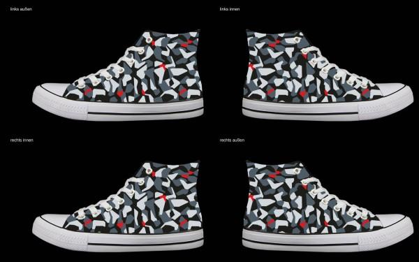 Schuh (Design: 4492 )Sneaker High