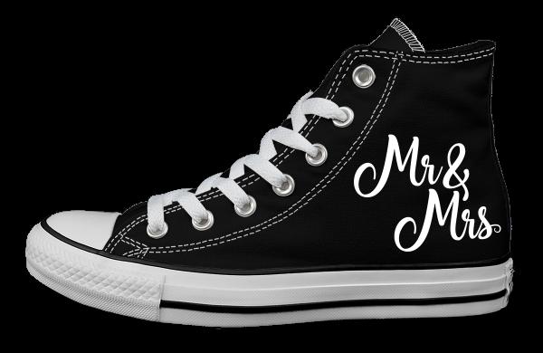 MR+MRS Schwarz - Links außen - Converse