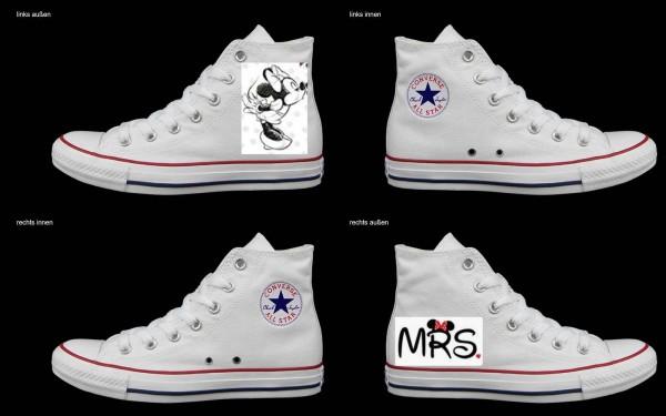 Schuh (Design: 4992 )Converse High