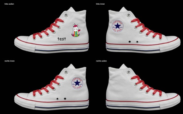 Schuh (Design: 5465 )Converse High