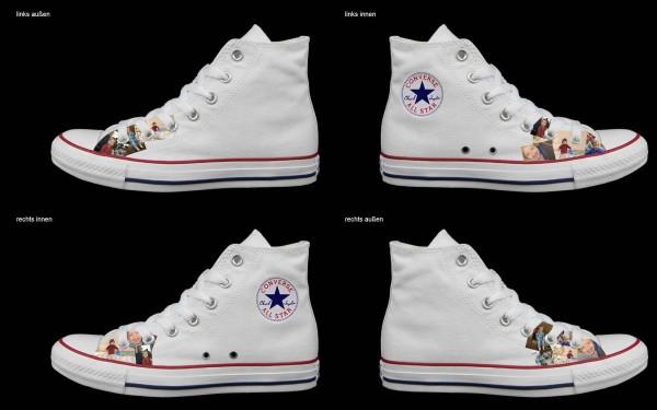 Schuh (Design: 4485 )Converse High