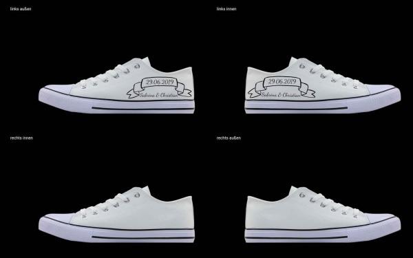 Schuh (Design: 4838 )Sneaker Low